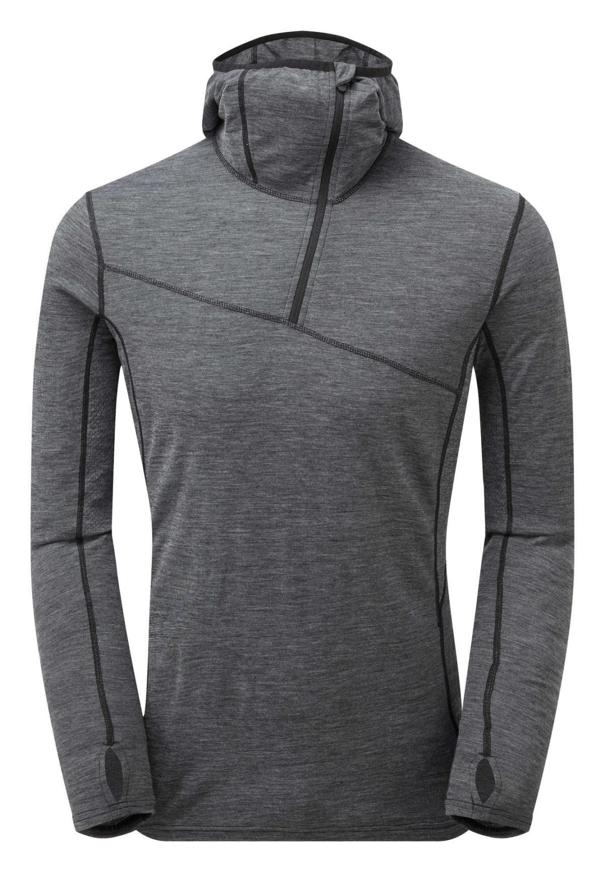 Montane merino wool and Primaloft mix hoodie top