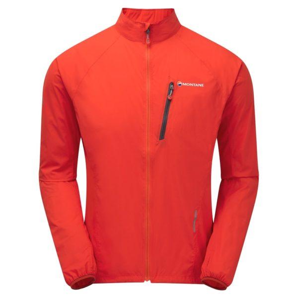 Montane trail running windproof jacket