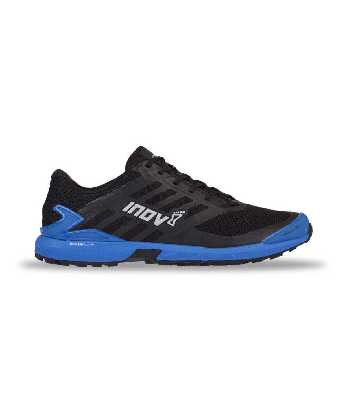 inov 8 Trailroc 285 trail shoe black blue FastandLight 7 1
